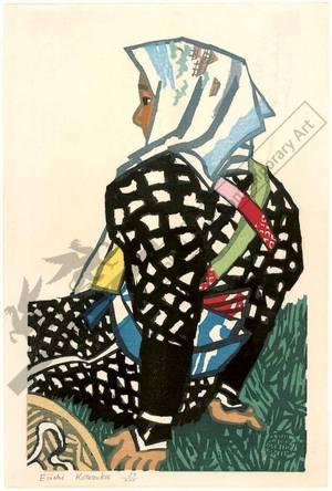無款: Peasant woman (title not original) - Austrian Museum of Applied Arts