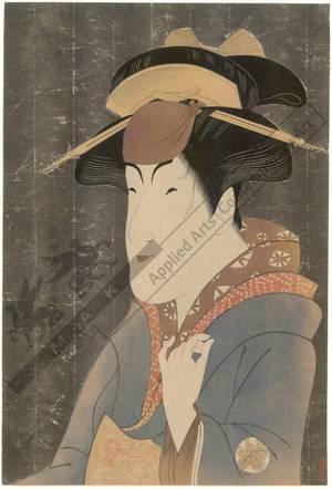 東洲斎写楽: Nakayama Tomisaburo as Miyagino (title not original) - Austrian Museum of Applied Arts