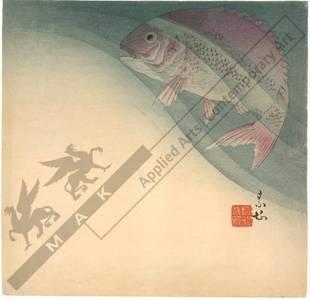 無款: Sea bream (title not original) - Austrian Museum of Applied Arts