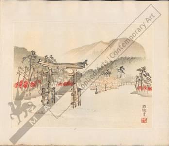Unknown: Gateway of Miyajima (title not original) - Austrian Museum of Applied Arts