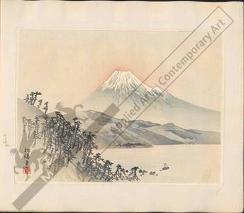 Unknown: Mount Fuji (title not original) - Austrian Museum of Applied Arts