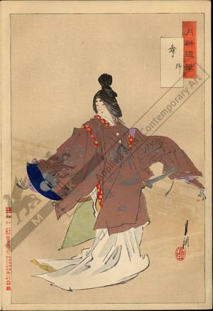 Ogata Gekko: Shizuka's dance - Austrian Museum of Applied Arts