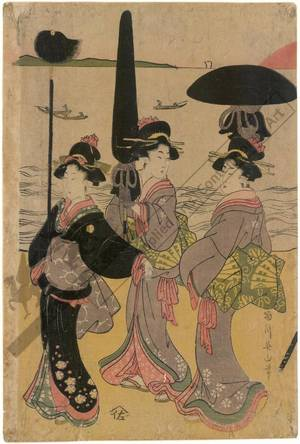 菊川英山: A parade of elegant beauties - Austrian Museum of Applied Arts