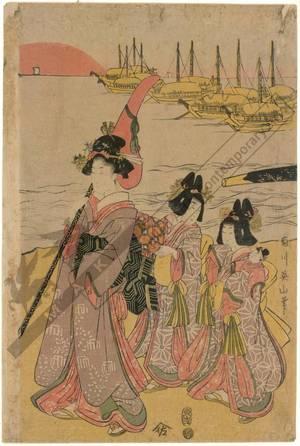 菊川英山: A parade of elegant beauties - Austrian Museum of Applied Arts