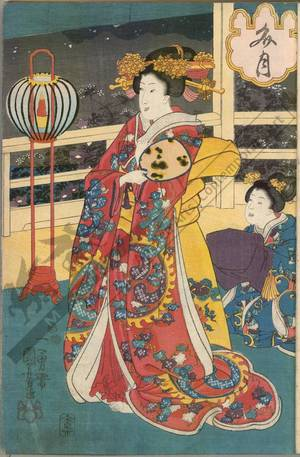 Utagawa Kuniyoshi: Seventh month - Austrian Museum of Applied Arts