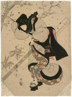 Utagawa Sadahide: Spring storm (title not original) - Austrian Museum of Applied Arts