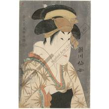 Toshusai Sharaku: Actor Segawa Senjo - Austrian Museum of Applied Arts