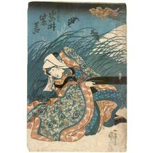 Utagawa Kuniyoshi: Actor Iwai Shijaku - Austrian Museum of Applied Arts