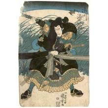 Utagawa Kuniyoshi: Actor Ichikawa Ebizo - Austrian Museum of Applied Arts
