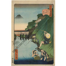 Utagawa Hirokage: The angler of Ochanomizu - Austrian Museum of Applied Arts