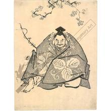 Kitagawa Utamaro: Lucky god Ebisu (title not original) - Austrian Museum of Applied Arts