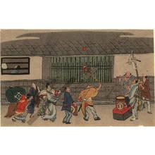 Kitao Masayoshi: Juggler (title not original) - Austrian Museum of Applied Arts
