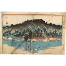 Utagawa Hiroshige: Inari Shrine at Oji - Austrian Museum of Applied Arts