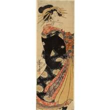 Seijiro Katsukawa: Courtesan (title not original) - Austrian Museum of Applied Arts