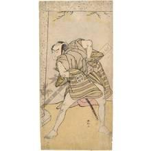 Katsukawa Shunko: Actor Otani Hiroji (title not original) - Austrian Museum of Applied Arts