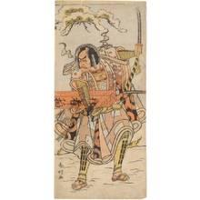 Katsukawa Shunko: Actor Ichikawa Danjuro (title not original) - Austrian Museum of Applied Arts
