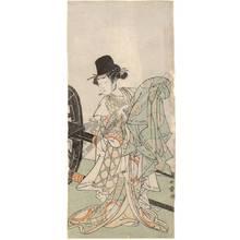 Katsukawa Shunsho: Actor Yamashita Kinsaku (title not original) - Austrian Museum of Applied Arts