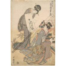 Kitagawa Utamaro: Self-made New Year's drawing of the lucky god Daikoku in the year of the rat - Austrian Museum of Applied Arts