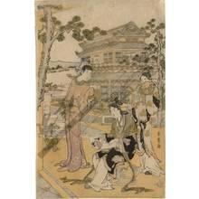 喜多川歌麿: Chinese beauties at a banquet (title not original) - Austrian Museum of Applied Arts