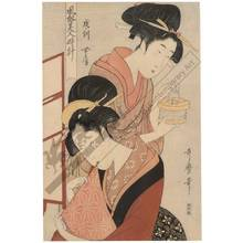 Kitagawa Utamaro: Women at the hour of the dog - Austrian Museum of Applied Arts