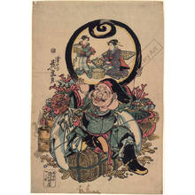 Keisai Eisen: Lucky god Daikoku (title not original) - Austrian Museum of Applied Arts