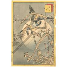 Nakayama Sugakudo: Plover and withered Reed - Austrian Museum of Applied Arts