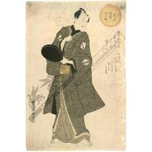 Utagawa Toyokuni I: Actor Sawamura Sojuro (title not original) - Austrian Museum of Applied Arts