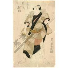 Utagawa Toyokuni I: Onoe Matsusuke as Goshaku no Somegoro - Austrian Museum of Applied Arts