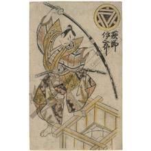 Torii Kiyonobu II: Actor Ogino Isaburo - Austrian Museum of Applied Arts