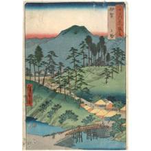 歌川広重: Province of Iga: Ueno - Austrian Museum of Applied Arts