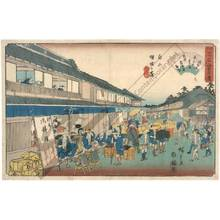 Utagawa Hiroshige: Mankin in Hakusan Keiseigakubo - Austrian Museum of Applied Arts