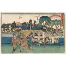歌川広重: View of Mimeguri - Austrian Museum of Applied Arts