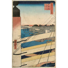 Utagawa Hiroshige: Nihon-Bridge and Edo-Bridge - Austrian Museum of Applied Arts