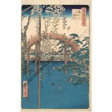 Utagawa Hiroshige: Compound of the Tenjin Shrine at Kameido - Austrian Museum of Applied Arts