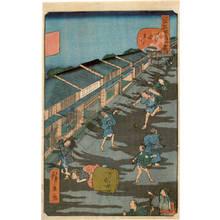 Utagawa Hirokage: Number 43: Iidamachi - Austrian Museum of Applied Arts