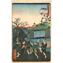 Utagawa Hirokage: Number 29: The Tiger gate - Austrian Museum of Applied Arts