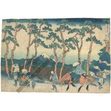 Katsushika Hokusai: Hodogaya along the Tokaido - Austrian Museum of Applied Arts