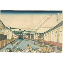 Katsushika Hokusai: Nihon-Bridge in Edo - Austrian Museum of Applied Arts