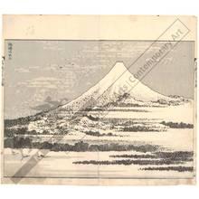Katsushika Hokusai: Fuji under a clear sky - Austrian Museum of Applied Arts