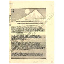 Katsushika Hokusai: Mount Fuji seen from Musashino - Austrian Museum of Applied Arts