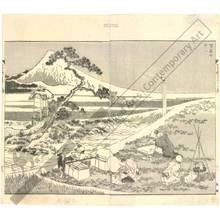 葛飾北斎: Mount Fuji painted from life - Austrian Museum of Applied Arts