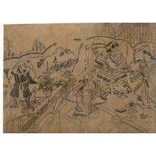 菱川師宣: Vision of Renshobo (title not original) - Austrian Museum of Applied Arts