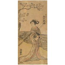 Torii Kiyotsune: Yamashita Kinsaku as Sadaka - Austrian Museum of Applied Arts