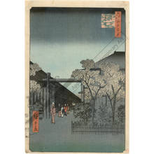 歌川広重: Dawn in Yoshiwara - Austrian Museum of Applied Arts