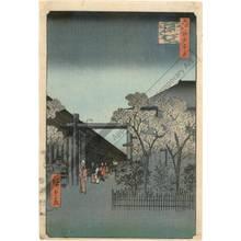 歌川広重: Dawn in Yoshiwara - Austrian Museum of Applied Arts