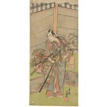Ippitsusai Buncho: Actor Ichikawa Yaozo (title not original) - Austrian Museum of Applied Arts