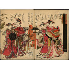Kitao Masanobu: Courtesans Takigawa and Hanaogi from the Ogi house - Austrian Museum of Applied Arts