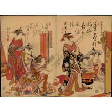 Kitao Masanobu: Courtesans Segawa and Matsubito - Austrian Museum of Applied Arts