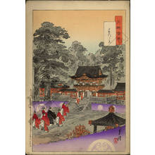 Ogata Gekko: View of the Higurashi gate - Austrian Museum of Applied Arts