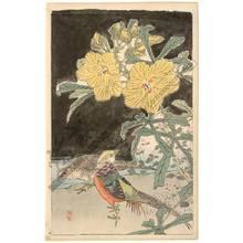 Kono Bairei: Pheasants (title not original) - Austrian Museum of Applied Arts